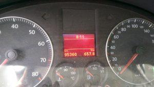 Nach dem ersten Tag stehen 658 km Auf dem Tacho