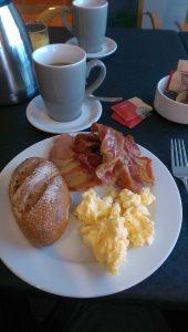 Frühstück an Bord der DFDS Prinzess Seaways