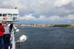 Hafeneinfahrt in Newcastle