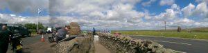 Blick auf die Borders runter nach Jednburgh