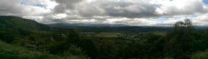 Blick ins Tal nach Aberfoyle
