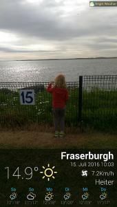 Wetter Fraserburgh