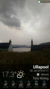 Wetter in Ullapool bright-weather-2016_07_20_07_18_00