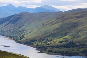 Ullapool hill and the Braes