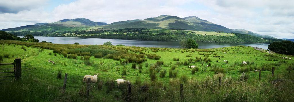 Loch Tay mit Ben Lawers