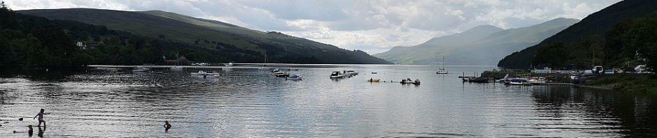 Loch Tay von Kenmore aus gesehen