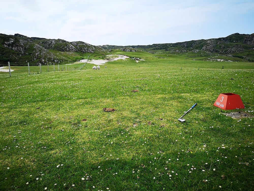 Isle of Iona Golf Course - Abschlag Bahn 3