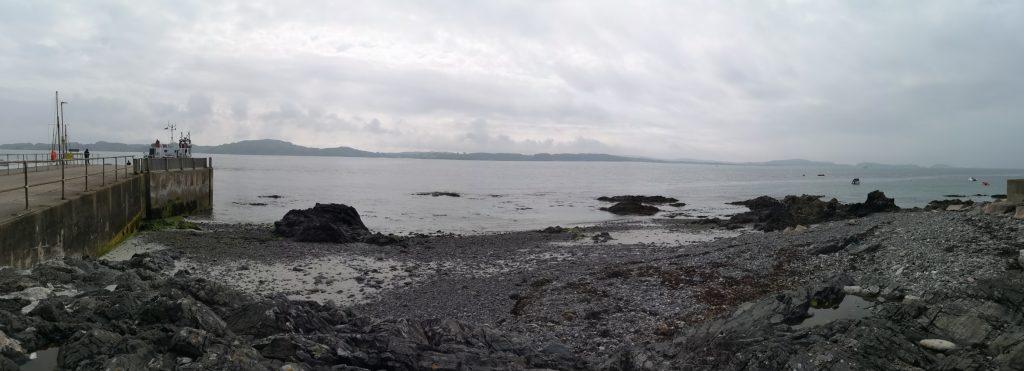 Isle of Iona im Dunst