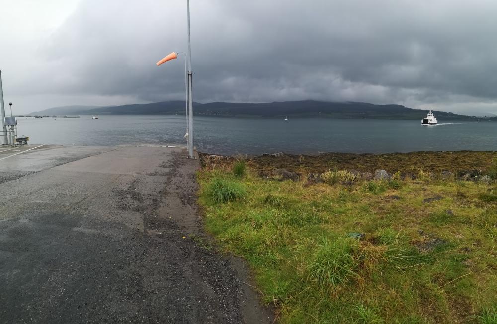 Fähranlieger Fishnish auf der Isle of Mull