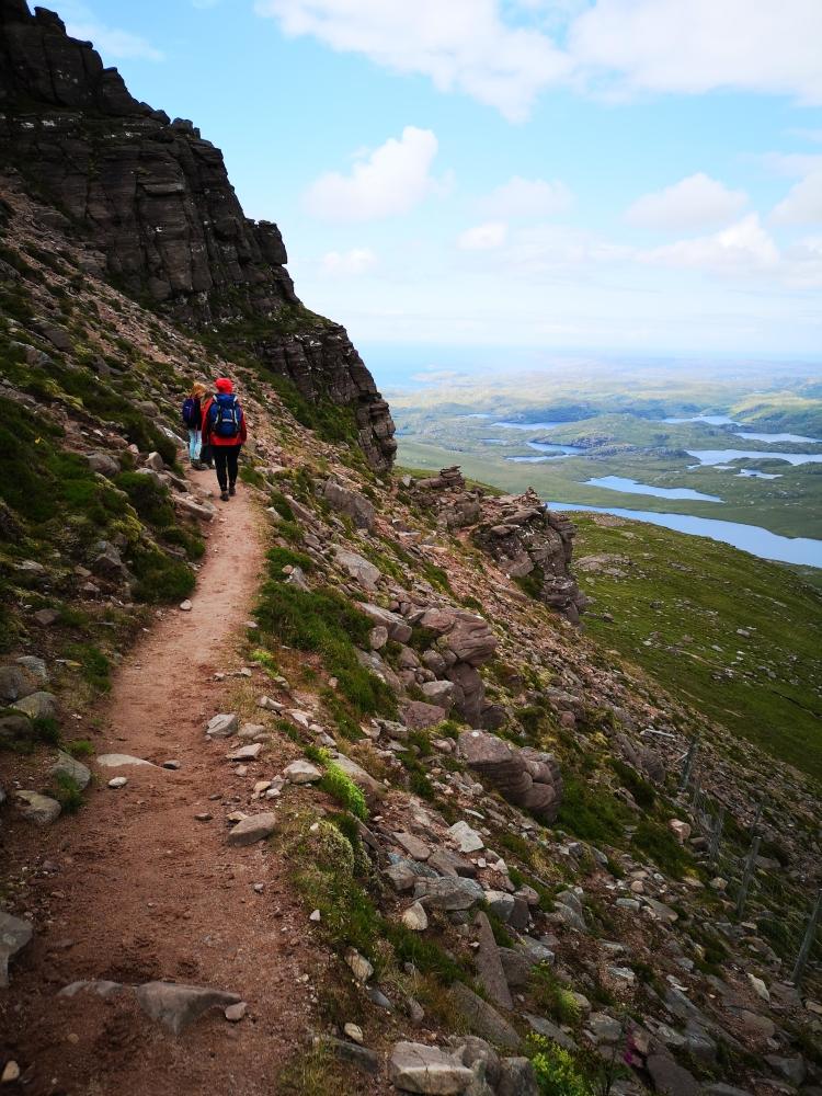 Wandern am Stac Pollaidh
