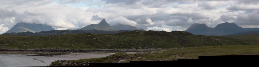 Panorama Achnahaird und Highlands