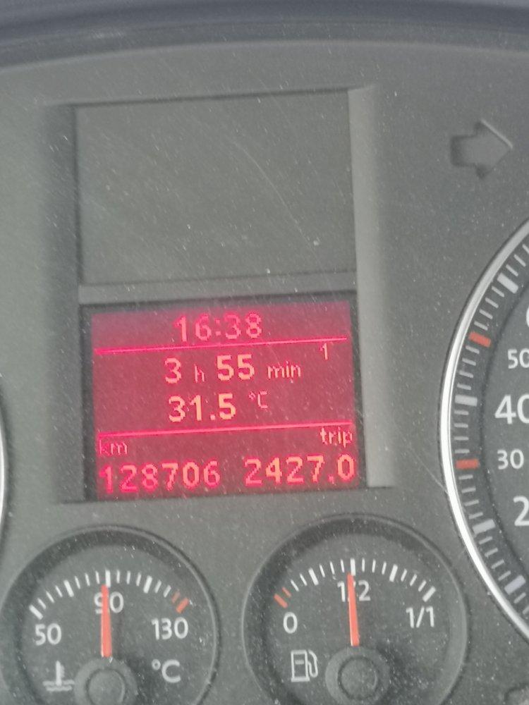 Tacho und Thermometer